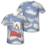 Airplane - Title (Front/Back Print) T-Shirt