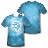 Green Lantern - Blue Energy (Front/Back Print) T-shirts