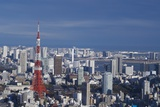 The View of Tokyo Tower from the Hills Photographic Print by Timothy Buerger / timdesuyo.com