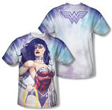 Wonder Woman - Warrior Goddess (Front/Back Print) Shirts