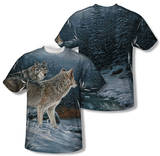 Wild Wings - Twilight Hunters (Front/Back Print) T-Shirt