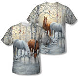 Wild Wings - Frosty Sunshine (Front/Back Print) T-shirts