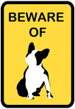 French Bulldog Beware 1 Print