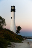Key Biscayne Lighthouse Photographic Print by Steven Trainoff Ph.D.