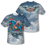 Superman - In Formation (Front/Back Print) Shirts