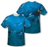 Wild Wings - Whales (Front/Back Print) T-Shirt
