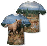 Wild Wings - Autumn Splendor (Front/Back Print) T-Shirt