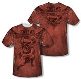 Superman - Justice Upheld (Front/Back Print) Shirts