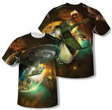 Star Trek - Battle Ships (Front/Back Print) Shirts