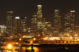 Downtown Los Angeles Photographic Print by Nathan B. Niyomtham