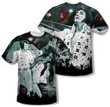 Youth: Elvis Presley - Now Playing (Front/Back Print) T-Shirt