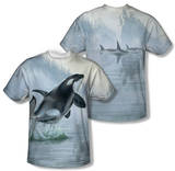 Wild Wings - Teeming Waters (Front/Back Print) T-shirts