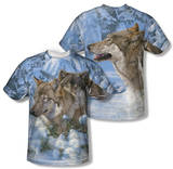 Wild Wings - Winter's Warmth (Front/Back Print) Shirts