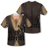 Youth: The Princess Bride - Montoya Costume (Front/Back Print) Shirts