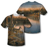 Wild Wings - Tranquil Evening (Front/Back Print) T-shirts