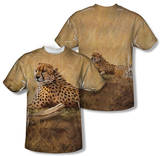Wild Wings - African Cats (Front/Back Print) T-shirts