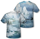 Wild Wings - Glacier's Edge (Front/Back Print) T-Shirt
