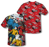 Star Trek - Long Panel (Front/Back Print) T-Shirt