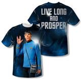 Star Trek - Live Long (Front/Back Print) T-Shirts