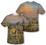 Wild Wings - Sundowners (Front/Back Print) T-shirts