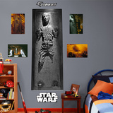 Star Wars - Han Solo In Carbonite Wall Decal