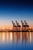 Industrial Cargo Dock Photographic Print by Hal Bergman Photography