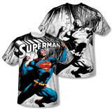 Superman - To Infinity (Front/Back Print) T-shirts
