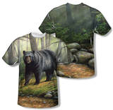Wild Wings - Woodland Morning (Front/Back Print) T-shirts