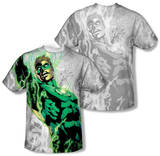 Youth: Green Lantern - Light Em Up (Front/Back Print) T-shirts