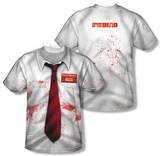 Shawn Of The Dead - Bloody Shirt (Front/Back Print) Vêtements