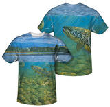 Wild Wings - Bighorn River (Front/Back Print) T-Shirt