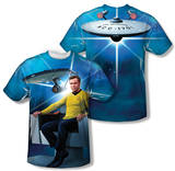 Star Trek - Kirk's Ship (Front/Back Print) Shirts