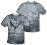 Superman - Made Of Steel (Front/Back Print) T-Shirt
