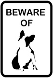 French Bulldog Beware Print
