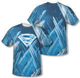 Superman - Solitude (Front/Back Print) T-shirts
