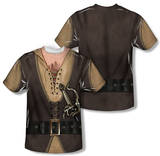 The Princess Bride - Montoya Costume (Front/Back Print) Sublimated