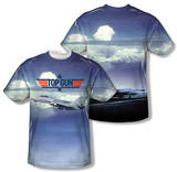 Top Gun - Take Off (Front/Back Print) Shirts