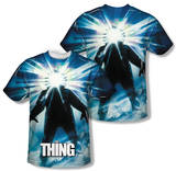 The Thing - Poster (Front/Back Print) T-shirts
