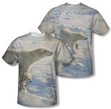 Wild Wings - On The Edge (Front/Back Print) T-Shirt