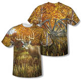 Wild Wings - When Color Is King (Front/Back Print) T-Shirt