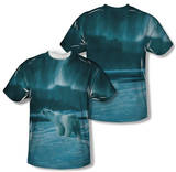 Wild Wings - Polar Night Light (Front/Back Print) T-Shirt