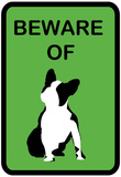 French Bulldog Beware 6 Posters