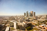 Los Angeles Aerial Skyline from City Hall Photographic Print by Maurice Alexandre F.P.