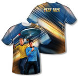 Star Trek - Phasers Down (Front/Back Print) T-Shirt