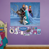 Frozen Group Wall Mural
