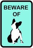 French Bulldog Beware 3 Poster