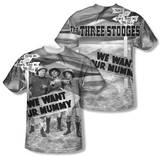 The Three Stooges - Tunis 1500 (Front/Back Print) Shirts