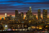 Downtown at Dusk Photographic Print by Shabdro Photo
