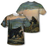 Wild Wings - Serenity At Twilight (Front/Back Print) T-shirts