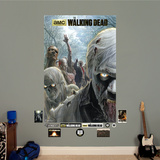 The Walking Dead - Illustrated Walkers Wall Mural